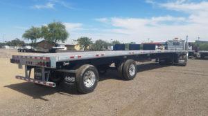 Manac flatbed trailer