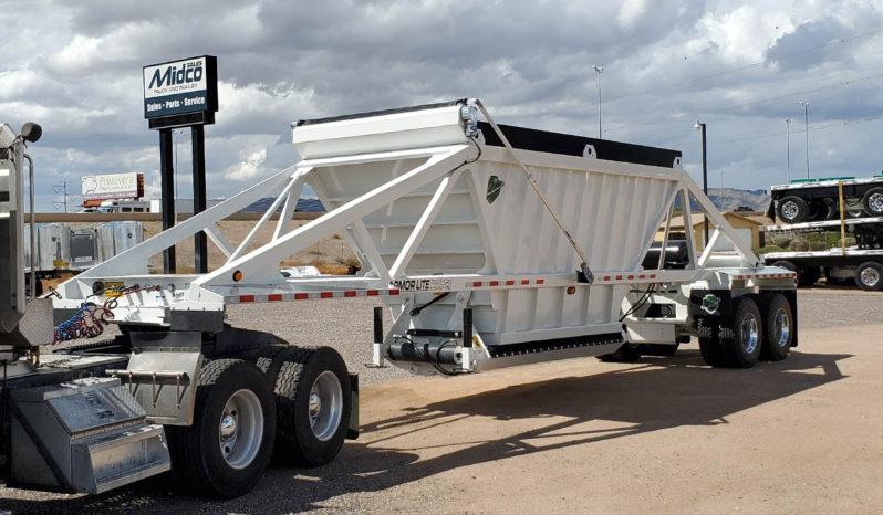 40 ft belly dump trailer