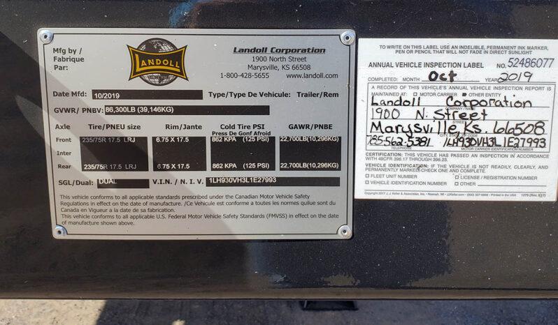 2021 Landoll 930E 51-15 Traveling Tail Trailer full