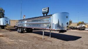 Armor Lite aluminum end dump trailer