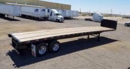 2022 Dorsey 45′ Flatbed with Piggyback Forklift Kit