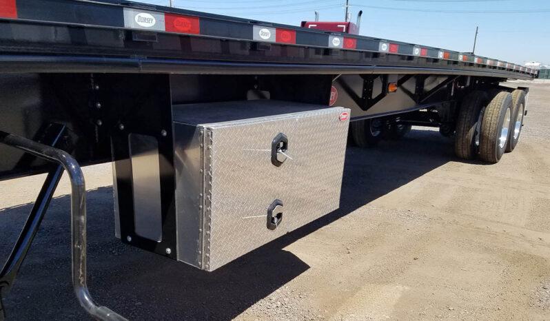 2021 Dorsey 45′ Flatbed with Piggyback Forklift Kit full