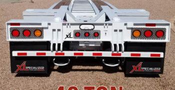 40 ton lowboys