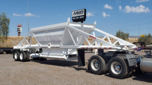 Ranco LW21-40 belly dump trailer