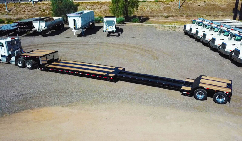 XL Specialized XL80 MDEZ extendable double drop trailer
