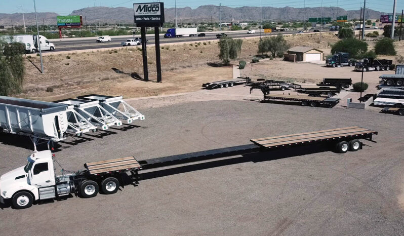 Extendable flatbed trailer Dorsey