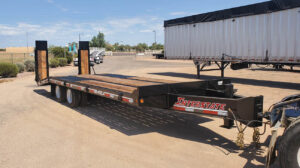 Interstate 40DLA tag trailer