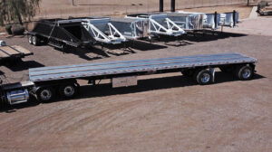 Dorsey 48 x 102 combo flatbed trailer
