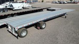 Dorsey aluminum flatbed trailer 48x102