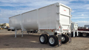 Ranco high side scrap demo end dump trailer