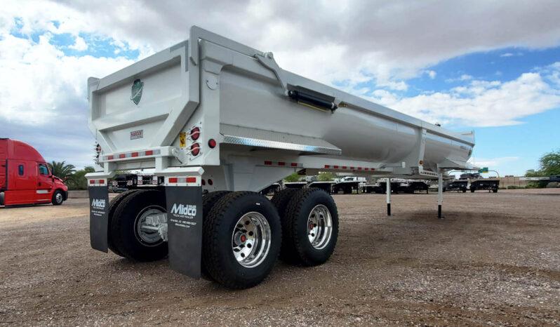 Armor lite half round end dump trailer