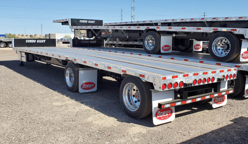 Dorsey combo drop deck trailer 48 x 102