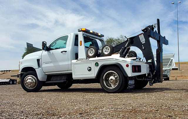 jerr-dan wrecker tow truck